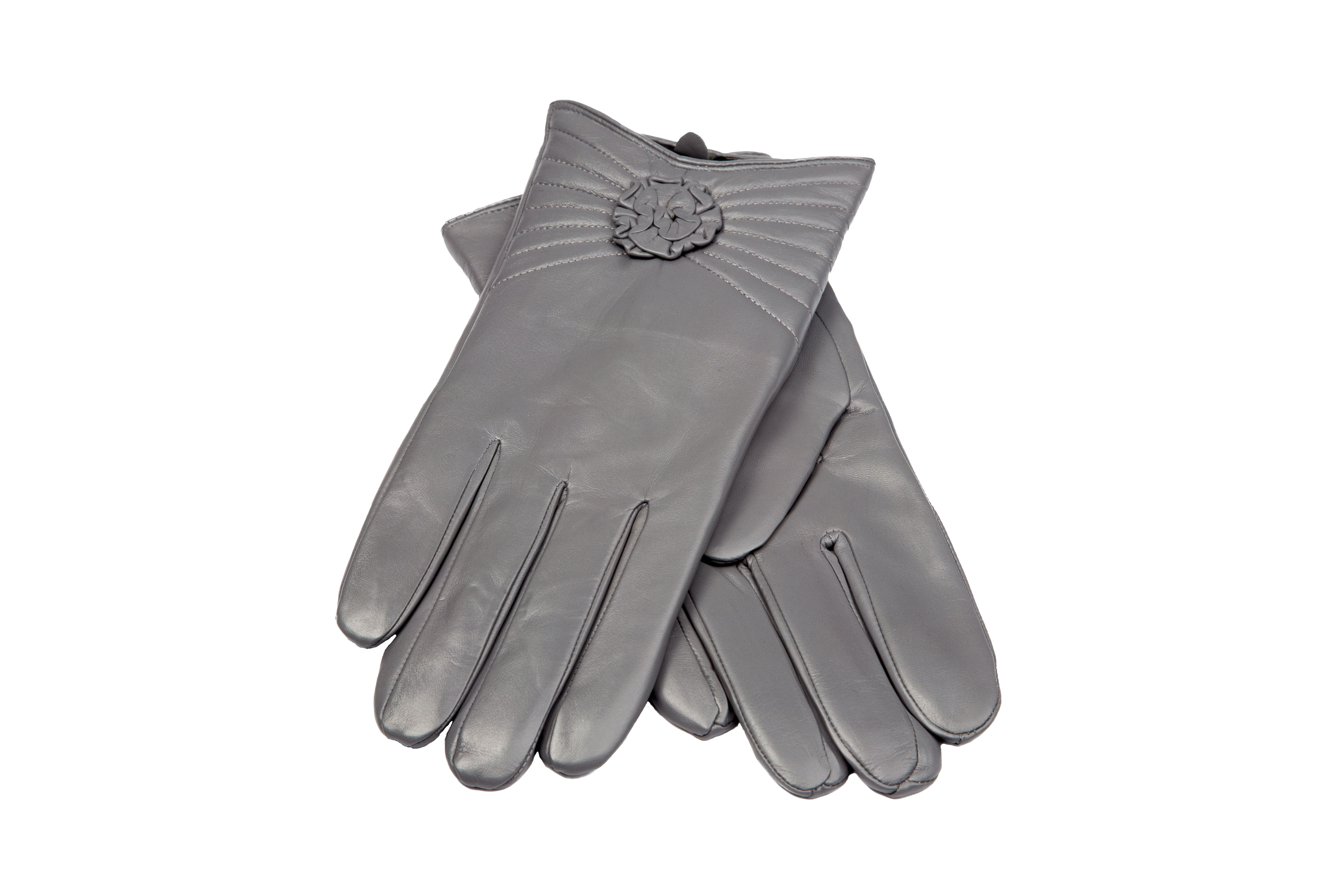 New Women39s Italian Cashmere Lined Leather Dress Gloves By Fratelli Orsini