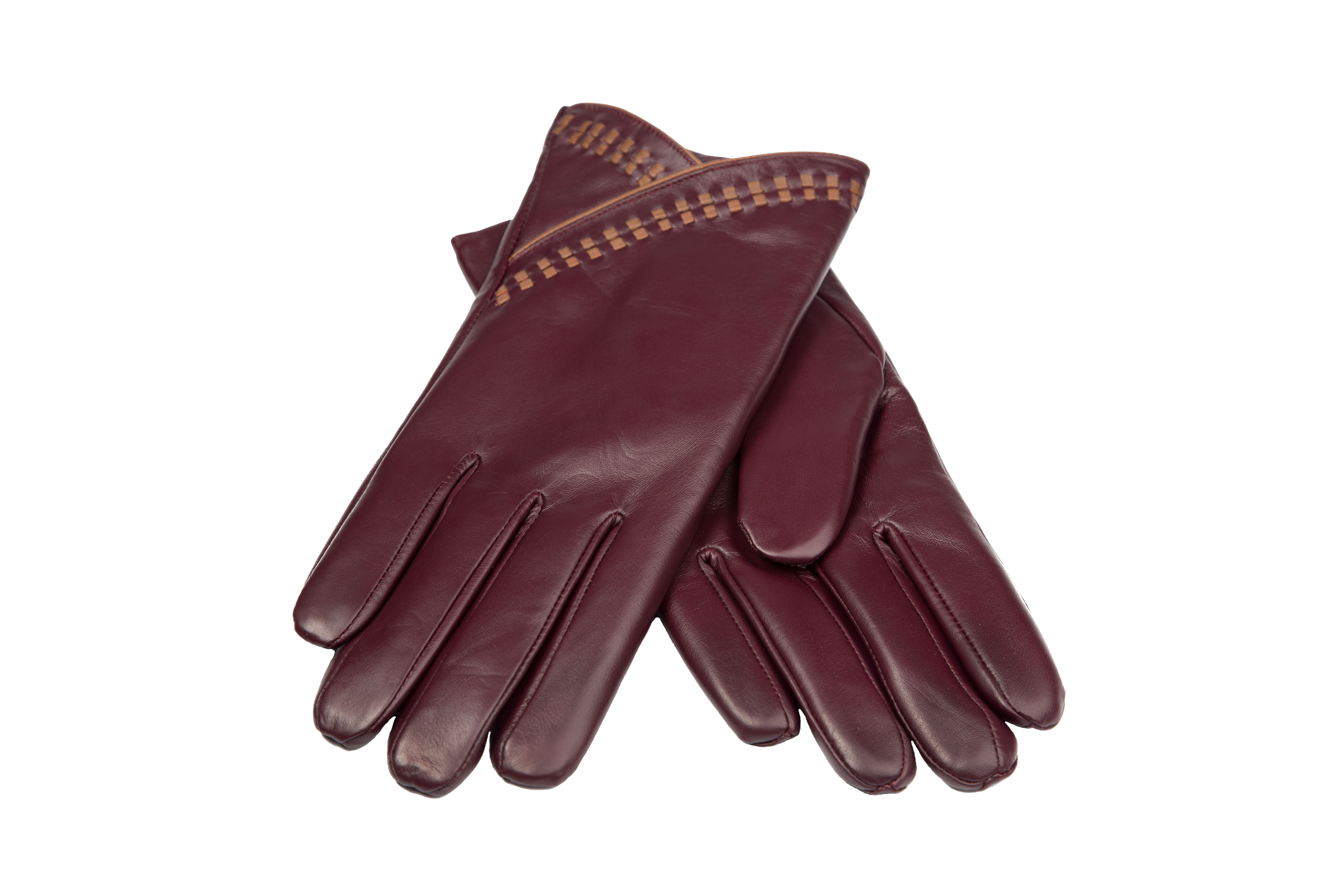 The Clarets – Women's Leather Dress Gloves with Long ...